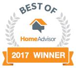 Best of HomeAdvisor - 2017 Winner